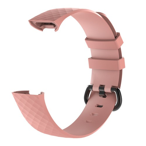 Notale Basic Rubber Series strap for Fitbit Charge 3 Pink