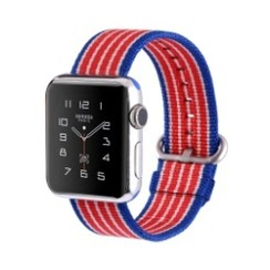 Nylon Woven Series for Apple Watch 42-44mm American Flag