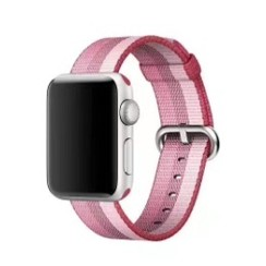 Nylon Woven Series for Apple Watch 38-40mm Berry