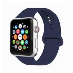 Basic Rubber Series for Apple Watch 42-44mm Blue Cobalt
