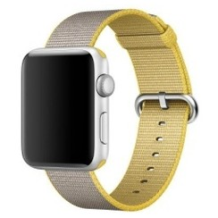 Nylon Woven Series for Apple Watch 38-40mm Yellow