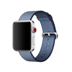 Nylon Woven Series for Apple Watch 38-40mm Blue Check