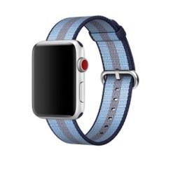 Nylon Woven Series for Apple Watch 38-40mm Blue Stripe