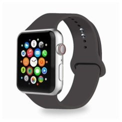 Basic Rubber Series for Apple Watch 42-44mm Cocoa