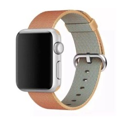 Nylon Woven Series for Apple Watch 38-40mm Gold Red
