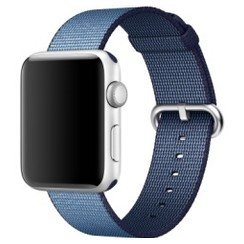 Nylon Woven Series for Apple Watch 38-40mm Midnight Blue