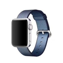 Nylon Woven Series for Apple Watch 38-40mm Navy Blue