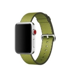 Nylon Woven Series for Apple Watch 38-40mm Olive Check