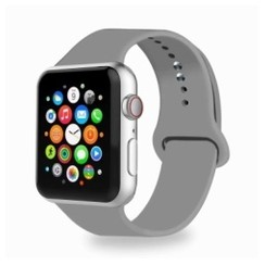 Basic Rubber Series for Apple Watch 38-40mm Concrete