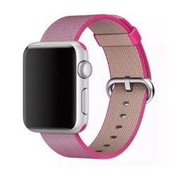 Nylon Woven Series for Apple Watch 38-40mm Pink