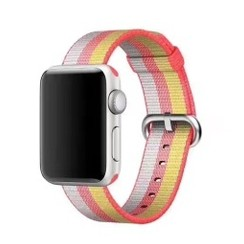 Nylon Woven Series for Apple Watch 38-40mm Red