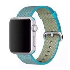 Nylon Woven Series for Apple Watch 38-40mm Scuba Blue