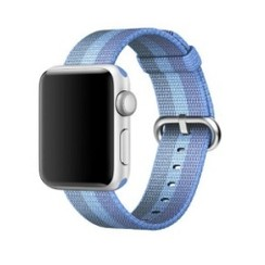 Nylon Woven Series for Apple Watch 38-40mm Tahoe Blue