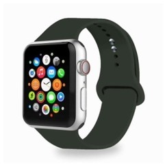 Basic Rubber Series for Apple Watch 42-44mm Dark Olive