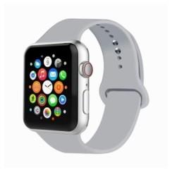 Basic Rubber Series for Apple Watch 38-40mm Fog