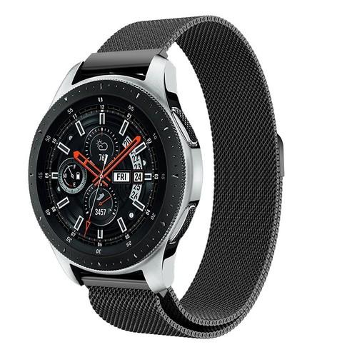 Milanese Magnetic Loop Series for Smartwatch 20mm Black
