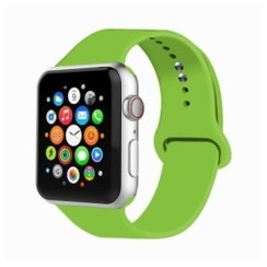 Basic Rubber Series for Apple Watch 42-44mm Green