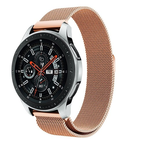 Milanese Magnetic Loop Series for Smartwatch 20mm Rose Gold