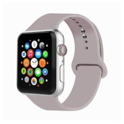 Basic Rubber Series for Apple Watch 42-44mm Lavender