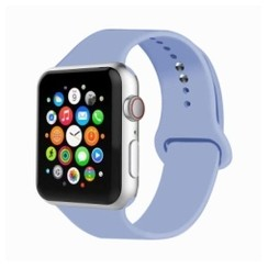 Basic Rubber Series for Apple Watch 42-44mm Lilac