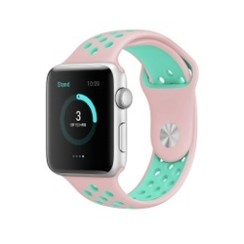 Sporty Rubber Series for Apple Watch 42-44mm Pink Tosca