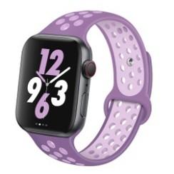 Sporty Rubber Series for Apple Watch 42-44mm Purple SoftPurple