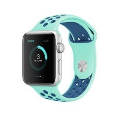 Sporty Rubber Series for Apple Watch 42-44mm Tosca Blue