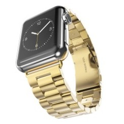 Classic Stainless Steel Series for Apple Watch 42-44mm Gold