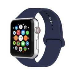 Basic Rubber Series for Apple Watch 42-44mm Midnight Blue