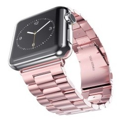 Classic Stainless Steel Series for Apple Watch 38-40mm Pink
