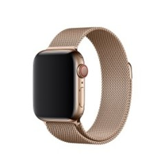 Milanese Magnetic Loop Series for Apple Watch  42-44mm Gold
