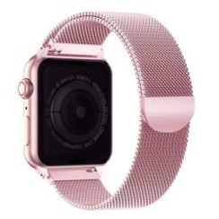 Milanese Magnetic Loop Series for Apple Watch  42-44mm Rose Gold
