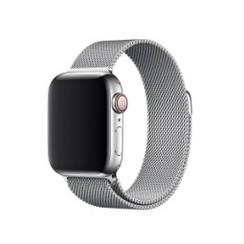 Milanese Magnetic Loop Series for Apple Watch  38-40mm Silver