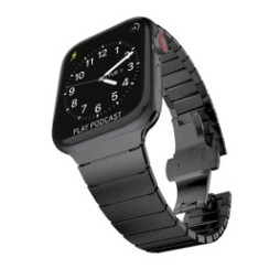 Pointer Stainless Steel Series for Apple Watch  42-44mm Black