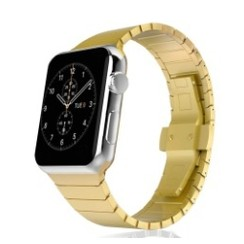 Pointer Stainless Steel Series for Apple Watch  38-40mm Gold