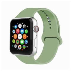 Basic Rubber Series for Apple Watch 42-44mm Mint