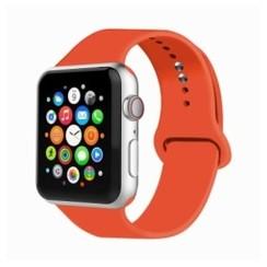 Basic Rubber Series for Apple Watch 42-44mm Orange