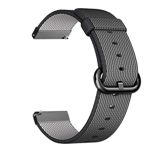 Nylon Woven Series for Smartwatch 22mm Black
