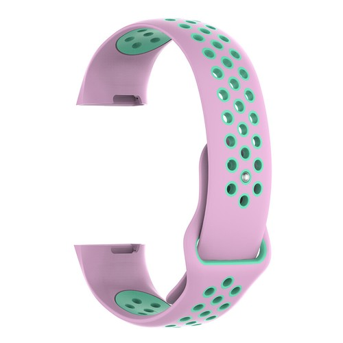 Notale Sporty Rubber Series for Fitbit Charge 3 Watch Pink Tosca