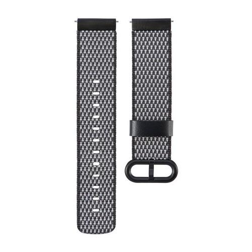 Nylon Woven Series for Smartwatch 20 mm Black Check