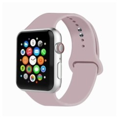 Basic Rubber Series for Apple Watch 42-44mm Pink Sand