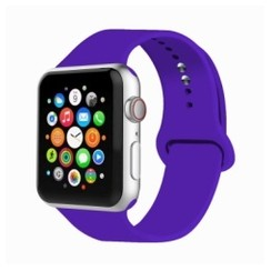 Basic Rubber Series for Apple Watch 42-44mm Purple