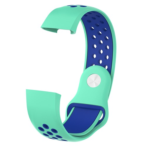 Notale Sporty Rubber Series for Fitbit Charge 3 Watch Tosca Blue