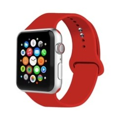 Basic Rubber Series for Apple Watch 42-44mm Red