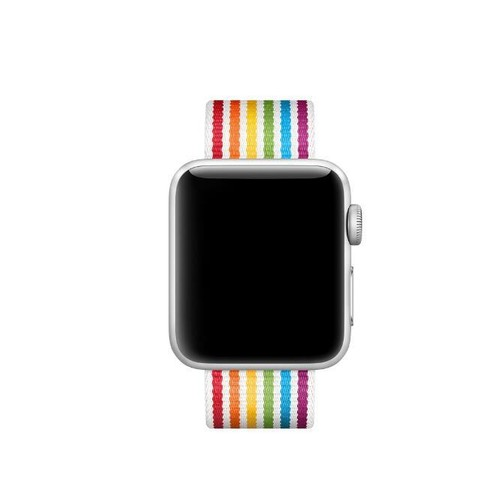 Nylon Woven Series for Smartwatch 22mm Colorful Stripe