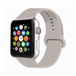Basic Rubber Series for Apple Watch 42-44mm Stone