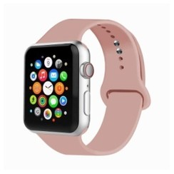 Basic Rubber Series for Apple Watch 42-44mm Vintage Rose
