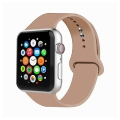 Basic Rubber Series for Apple Watch 42-44mm Walnut