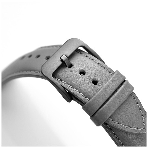 Cordova Leather Series for Smartwatch 20mm Grey
