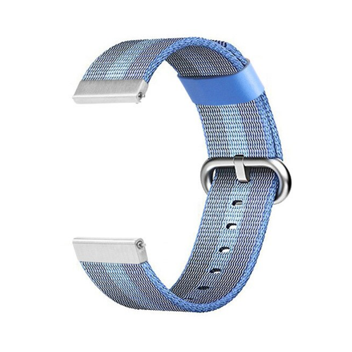 Nylon Woven Series for Smartwatch 20 mm Tahoe Blue